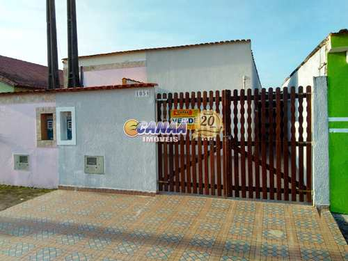 Casa, código 7957 em Mongaguá, bairro Jardim Leonor