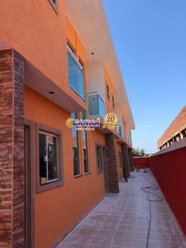 Sobrado de Condomínio, código 8320 em Itanhaém, bairro Cibratel