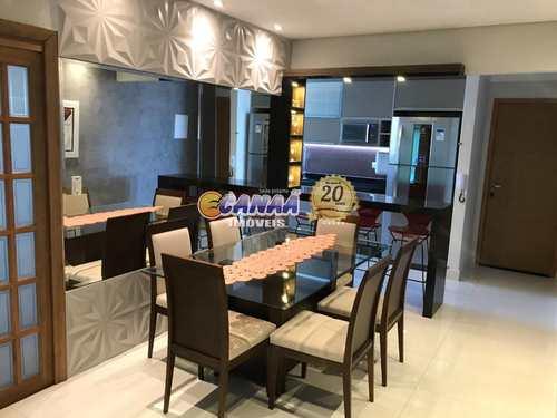 Apartamento, código 8485 em Mongaguá, bairro Centro