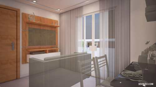 Apartamento, código 962601 em Praia Grande, bairro Aviação