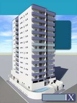 Apartamento, código 850101 em Praia Grande, bairro Aviação
