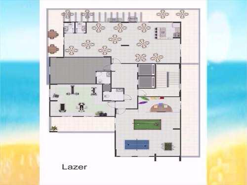 Apartamento, código 826001 em Praia Grande, bairro Caiçara