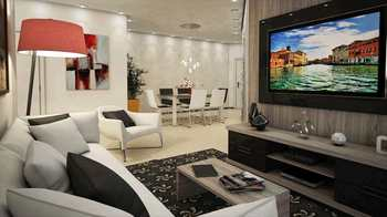 Apartamento, código 778400 em Praia Grande, bairro Canto do Forte