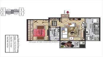 Apartamento, código 759500 em Praia Grande, bairro Ocian