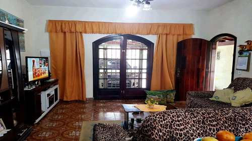 Casa, código 756700 em Praia Grande, bairro Caiçara