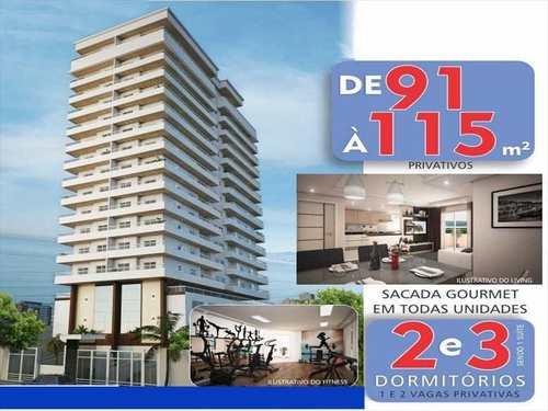 Apartamento, código 756401 em Praia Grande, bairro Aviação