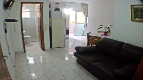 Kitnet, código 701101 em Praia Grande, bairro Aviação