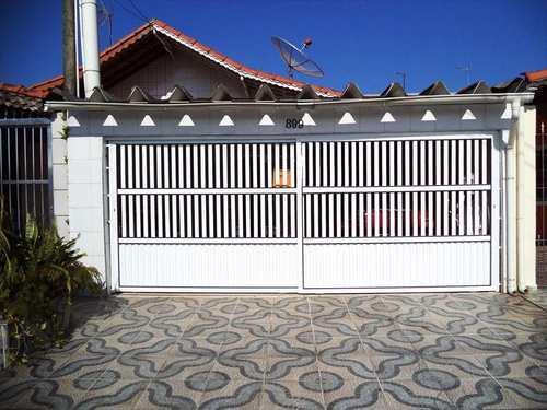 Casa, código 633901 em Praia Grande, bairro Caiçara