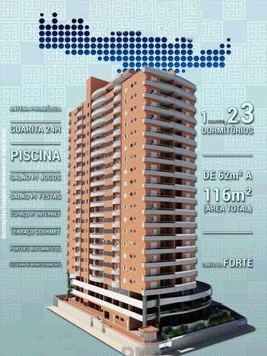 Apartamento, código 616200 em Praia Grande, bairro Canto do Forte