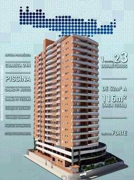 Apartamento, código 616000 em Praia Grande, bairro Canto do Forte