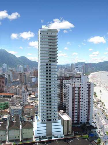 Apartamento, código 587000 em Praia Grande, bairro Guilhermina