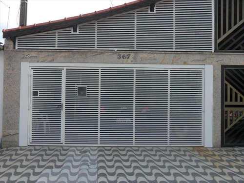 Casa, código 571601 em Praia Grande, bairro Caiçara