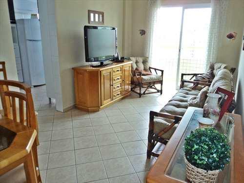Apartamento, código 554000 em Praia Grande, bairro Tupi