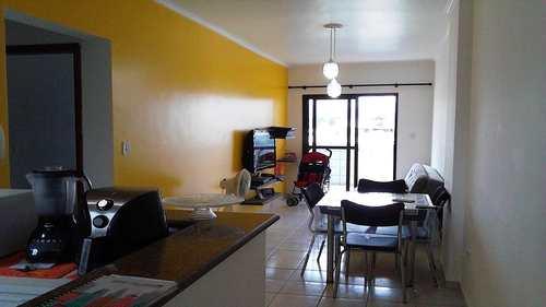 Apartamento, código 164201 em Praia Grande, bairro Guilhermina