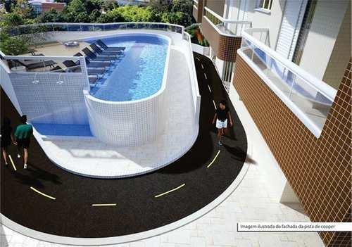 Apartamento, código 980049 em Praia Grande, bairro Guilhermina