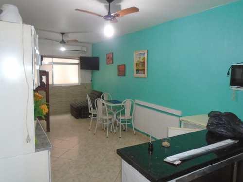 Kitnet, código 980654 em Praia Grande, bairro Aviação