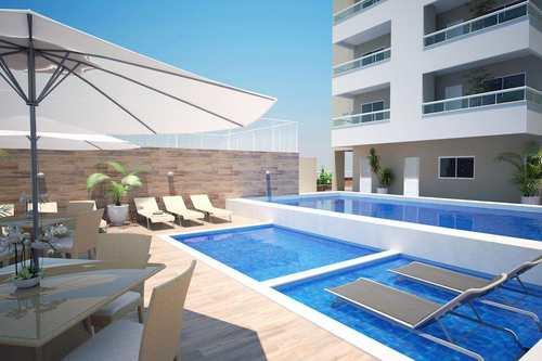 Apartamento, código 980876 em Praia Grande, bairro Caiçara