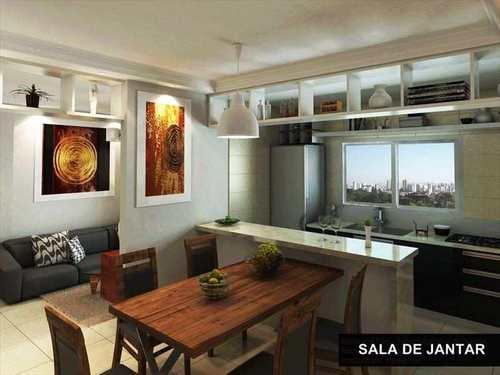 Apartamento, código 981383 em Praia Grande, bairro Canto do Forte