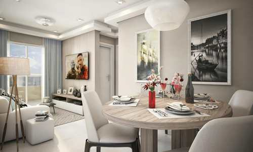 Apartamento, código 981548 em Praia Grande, bairro Canto do Forte