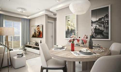 Apartamento, código 981554 em Praia Grande, bairro Canto do Forte