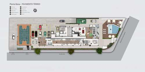 Apartamento, código 981906 em Praia Grande, bairro Flórida
