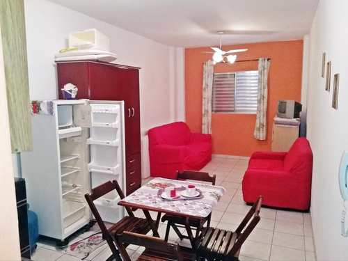 Kitnet, código 982242 em Praia Grande, bairro Ocian