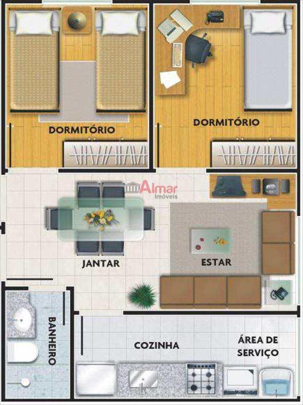 Apartamento em São Paulo, no bairro São Miguel Paulista
