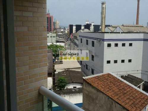 Apartamento, código 2672 em São Vicente, bairro Catiapoa