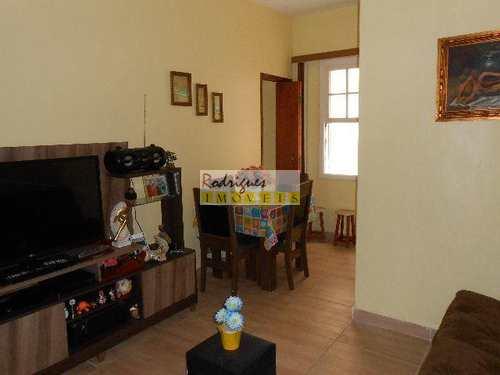 Apartamento, código 2573 em São Vicente, bairro Centro