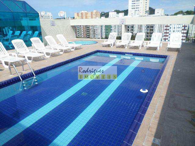 Flat em São Vicente, no bairro Centro