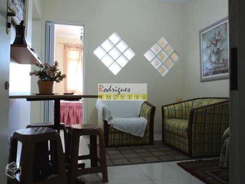 Apartamento, código 1750 em São Vicente, bairro Itararé