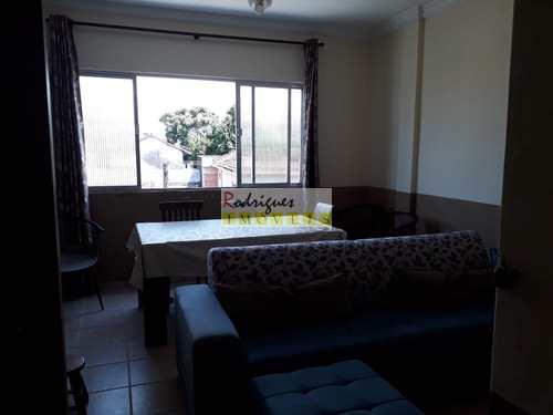 Apartamento, código 3314 em São Vicente, bairro Catiapoa