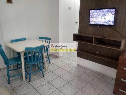 Apartamento, código 3342 em São Vicente, bairro Itararé