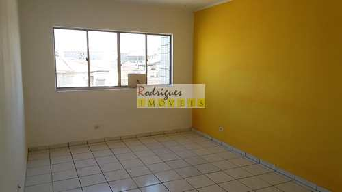 Apartamento, código 3408 em São Vicente, bairro Jardim Independência