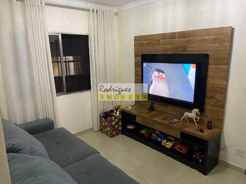 Apartamento, código 3428 em São Vicente, bairro Vila Cascatinha