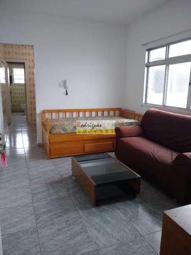 Apartamento, código 3446 em São Vicente, bairro Jardim Independência