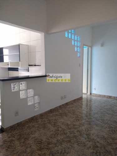 Apartamento, código 3475 em São Vicente, bairro Centro