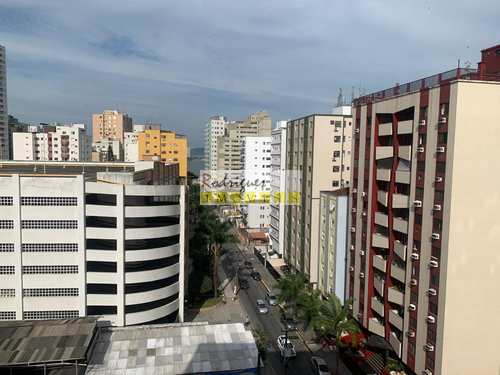 Apartamento, código 3504 em São Vicente, bairro Centro