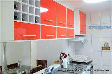 Apartamento, código 2735 em Praia Grande, bairro Mirim