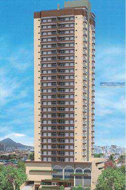 Apartamento, código 2407 em Praia Grande, bairro Guilhermina