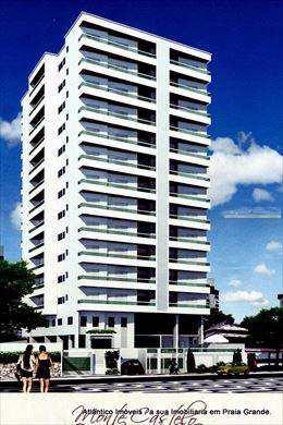 Apartamento, código 2129 em Praia Grande, bairro Aviação