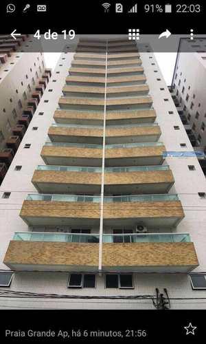 Apartamento, código 3309 em Praia Grande, bairro Ocian