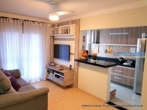 Apartamento, código 3368 em Praia Grande, bairro Tupi