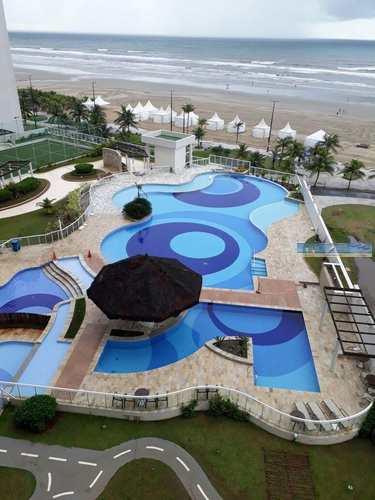 Apartamento, código 3489 em Praia Grande, bairro Mirim