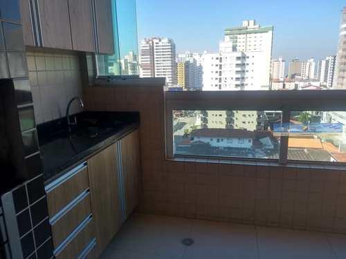 Apartamento, código 3650 em Praia Grande, bairro Guilhermina