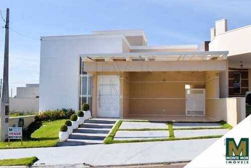 Casa de Condomínio, código 9261 em Monte Mor, bairro Reserva da Mata