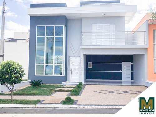 Casa de Condomínio, código 9509 em Hortolândia, bairro Condomínio Golden Park