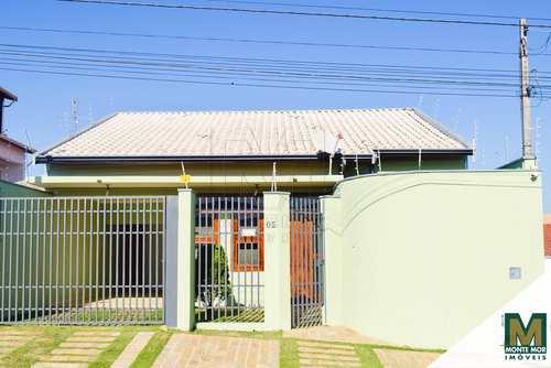 Casa, código 9514 em Monte Mor, bairro Centro