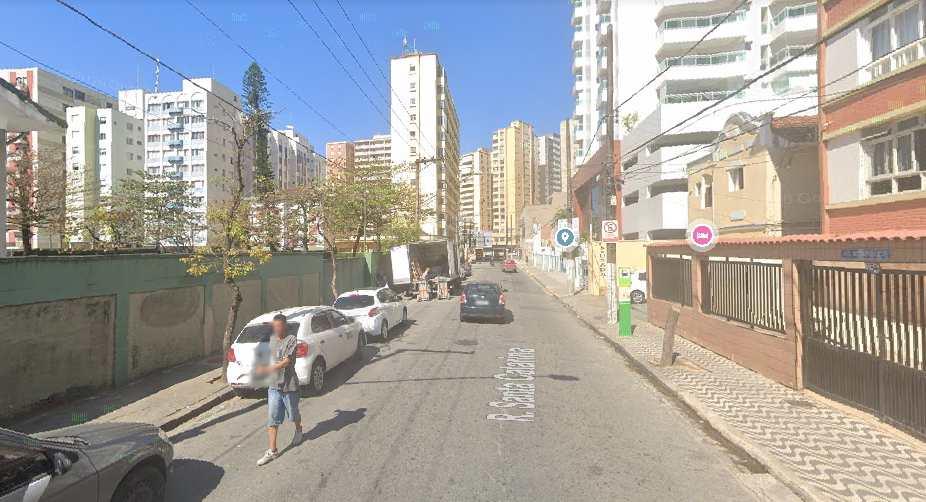 Terreno em Santos, no bairro José Menino