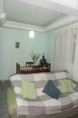 Apartamento, código 2575 em Cubatão, bairro Parque São Luis